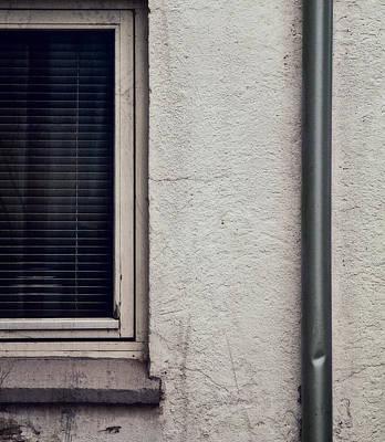 Venetian Blinds Photograph - One Channel by Odd Jeppesen