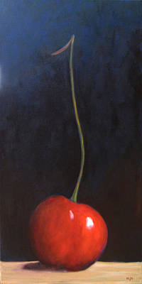 Painting - One Cherry by Marie-louise McHugh
