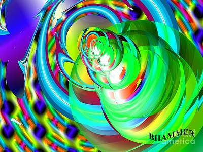 Digital Art - One Drop by Bobby Hammerstone