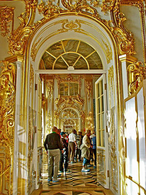 Catherine Palace In Russia Photograph - One Elegant Room Leads To The Next In Catherine's Palace In Pushkin-russia by Ruth Hager