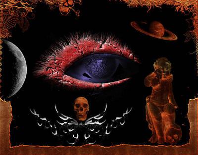 Digital Art - One Eye Open by Michael Damiani