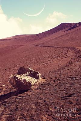Photograph - One Fine Day On The Red Planet by Edward Fielding