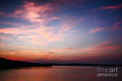 One Fine Sunset Art Print