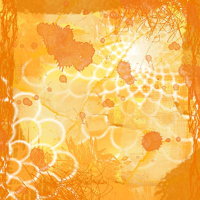 Goldfish Digital Art - One Fish Two Fish by Lisa Noneman