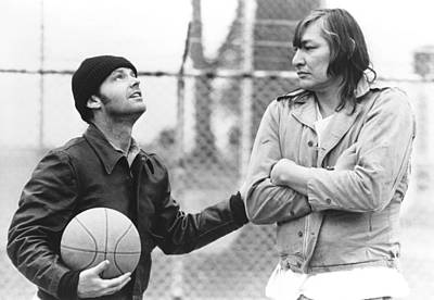 1970s Movies Photograph - One Flew Over The Cuckoos Nest by Everett