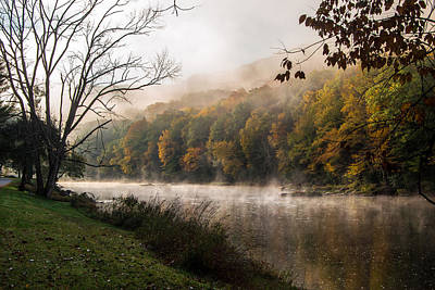 Photograph - One Foggy Morning by Anthony Thomas
