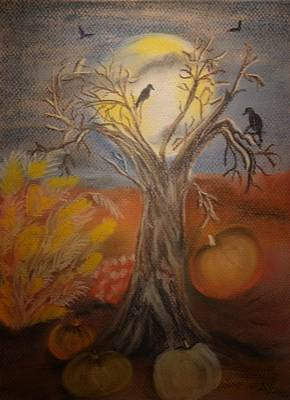 Pastel - One Hallowed Eve by Maria Urso