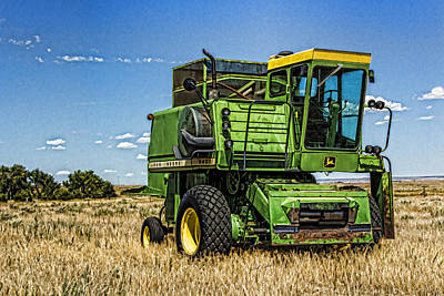 Photograph - One Headless Deere by Bill Kesler