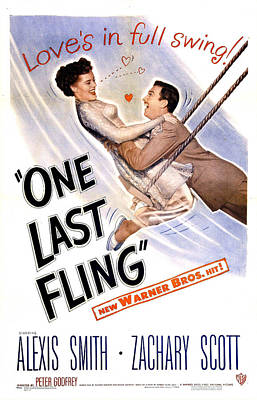 One Last Fling, Us Poster,  Alexis Art Print