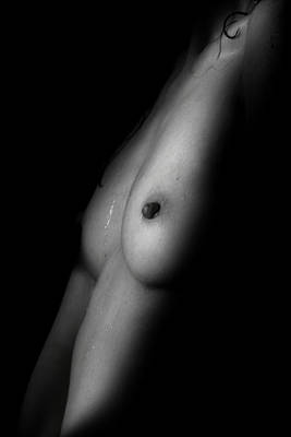 Breasts Photograph - One Light  by Mark Ashkenazi