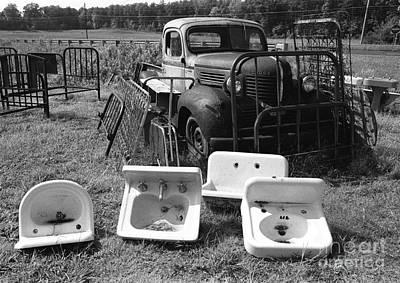Photograph - One Man's Trash by Tom Brickhouse