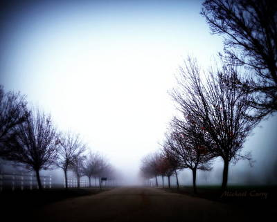 Photograph - One Mile To Nowhere by Michael Curry