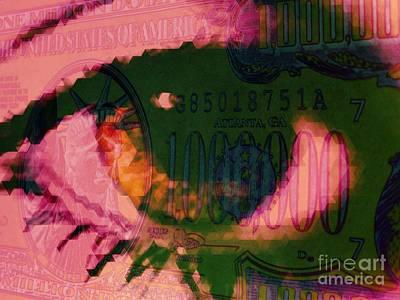 One Million / Pink Art Print by Elizabeth McTaggart