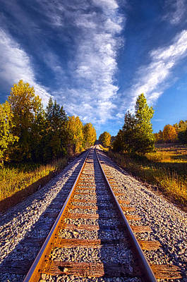 Railroad Park Photograph - One More Ride by Phil Koch