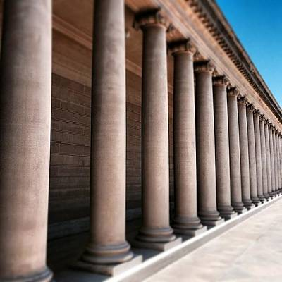 Classical Wall Art - Photograph - Colonnade by Tom Parrette