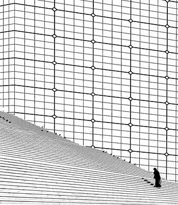 Grande Photograph - One More Step by Aziz Abbassi