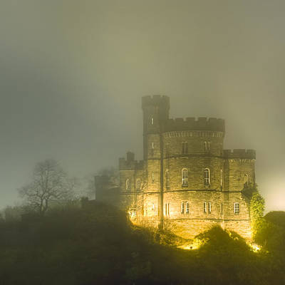 Castle Photograph - One Mysterious Night On Calton Hill by Mark E Tisdale