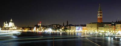 Venise Photograph - One Night In Venise by Cedric Darrigrand