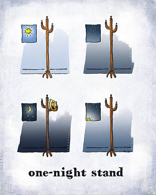 Digital Art - One Night Stand by Mark Armstrong