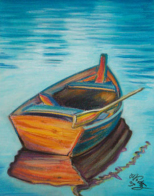 Painting - One Oar by Michael Foltz