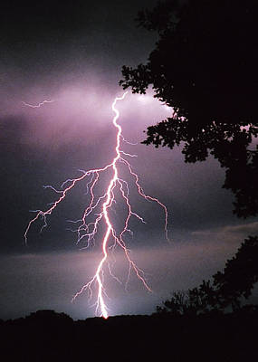Wall Art - Photograph - One Of Many Lightning Strikes by Shannon Story
