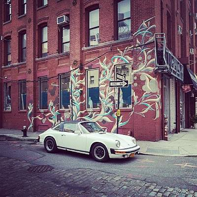 One Of My Favorite Wall With Graffiti Art Print by Pavel Bendov