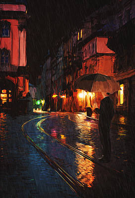 Beautiful Painting - One Of These Nights by Taylan Apukovska