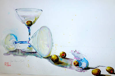 Painting - One Or Two Olives by Patricia Ragone