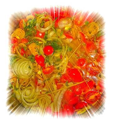 One Pan Pasta Cooking Art Print