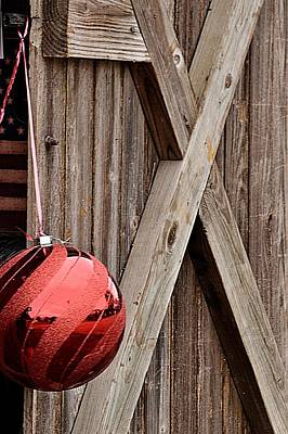 Photograph - One Red Ball Is All You Need by Nadalyn Larsen