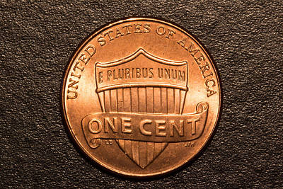 One Red Cent Art Print by S Cass Alston