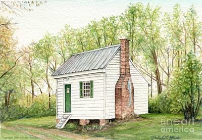 One Room House Art Print by Michael  Martin