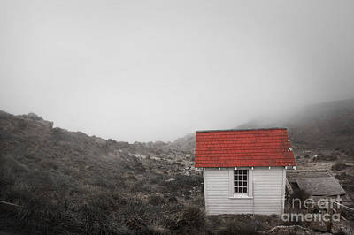 Art Print featuring the photograph One Room In A Fog by Ellen Cotton