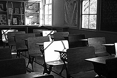 Photograph - One Room School by Kay Novy