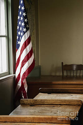 One Room School Houses Photograph - One Room School by Margie Hurwich