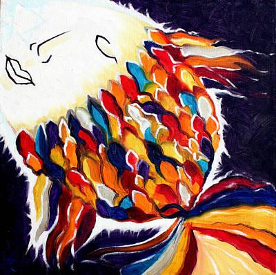 Painting - ONE by Sandra Yegiazaryan