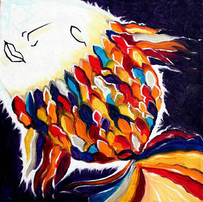Moderne Kunst Painting - ONE by Sandra Yegiazaryan