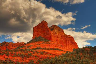 Photograph - One Sedona Sunset by Hany J
