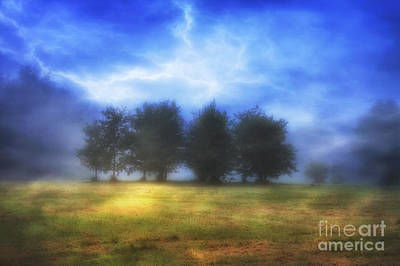 Autumn Landscape Digital Art - One September Morning by Veikko Suikkanen