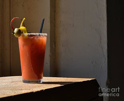 Bloody Mary Photograph - One Shot Bloody Mary by George Gilbert