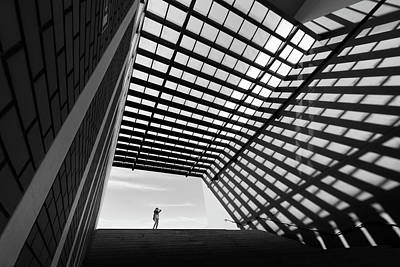 Railroad Station Photograph - One Small Day by Paulo Abrantes
