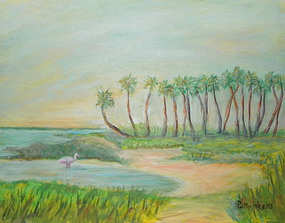 Painting - One St. Augustine Afternoon by Patty Weeks