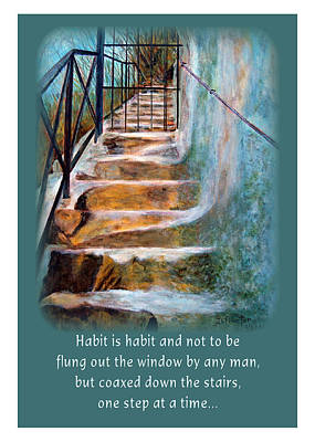 Painting - One Step At A Time by Donna Proctor