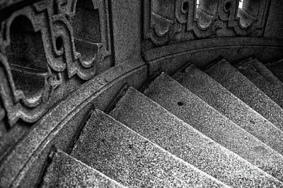 Photograph - One Step At A Time In Hamburg Mono by John Rizzuto