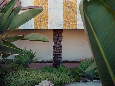 One Tiki In Redondo Beach Art Print