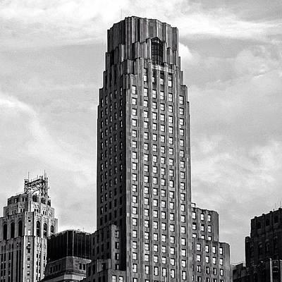 Instacnvs Photograph - One Wall Street Bldg. - Ny  Bny Mellon by Joel Lopez