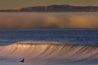 Photograph - One Wave Before The Fog Rolls In  Mg_5379 by David Orias