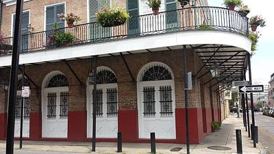 One Way French Quarters Art Print by Miguel Hernandez