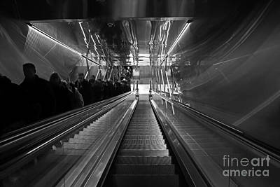 Photograph - One Way by Inge Riis McDonald