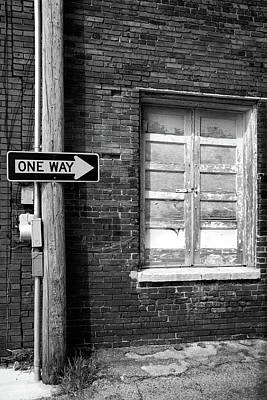 Photograph - One Way by Peter Tellone